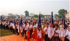 Liên đoàn Thiếu Nhi Thánh Thể Gioan Phaolô II giáo phận Vinh đã tổ chức lễ mừng kính thánh bổn mạng