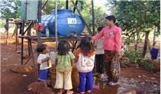 Khi nước sạch về buôn làng