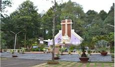 Hình ảnh một nghĩa trang họ đạo