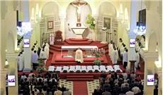 Linh mục đoàn giáo phận Đà Lạt tĩnh tâm thường niên
