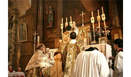 Thánh hoá các linh mục