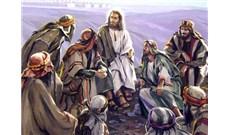 Ngài rao giảng và cầu nguyện