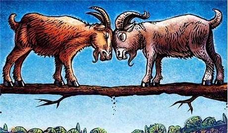 Hai con dê núi trong đạo Hindu