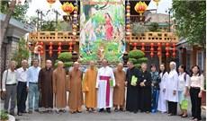 Phái đoàn Công giáo TGP.TPHCM chúc mừng lễ Phật đản