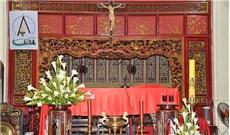 Vết xưa trong ngôi nhà thờ họ đạo người Hoa