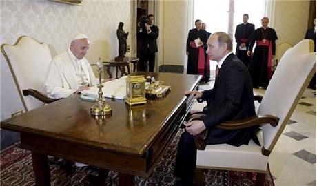 Đức Thánh Cha tiếp kiến Tổng thống Nga Vladimir Putin