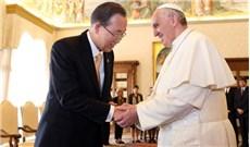 Tổng Thư ký Liên Hiệp Quốc ca ngợi Thông điệp Laudato Sicủa Đức Thánh Cha Phanxicô
