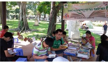 Thư viện nhỏ ở công viên