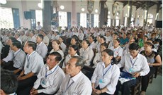 Caritas GP Bùi Chu đã tổ chức Đại hội lần thứ II