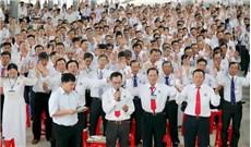 HĐMVGX GP Long Xuyên và cử hành nghi thức Tuyên hứa nhậm chức HĐMVGX khóa 2