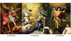 Tổng Lãnh Thiên Thần Micae, Gabriel, và Raphael
