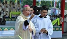 Giáo phận Xuân Lộc - Lễ đặt viên đá đầu tiên Trung tâm Hành hương Đức Mẹ Núi Cúi