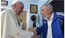 Đức Phanxicô  gặp cựu Chủ tịch Cuba Fidel Castro