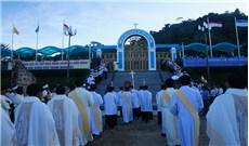 Trung tâm Thánh Mẫu Tàpao khai mạc Năm Thánh Lòng Thương Xót