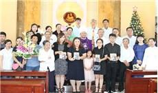 Lễ cải táng song thân của Đức cha G.B Bùi Tuần
