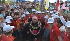 Đức TGM Leopoldo Girelli thăm giáo xứ Thới Hòa