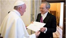 Đức Phanxicô tiếp tân đại diện ngoại giao Đài Loan