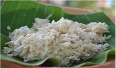 Dẻo thơm vị cốm trộn dừa