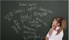 Ðau đầu chuyện  trẻ học Anh văn sớm