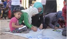Thỉnh nguyện hòa bình của trẻ em Syria