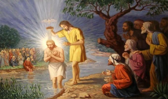 Con yếu dấu (9.1.2017 – Thứ hai: Chúa Giêsu chịu Phép Rửa)