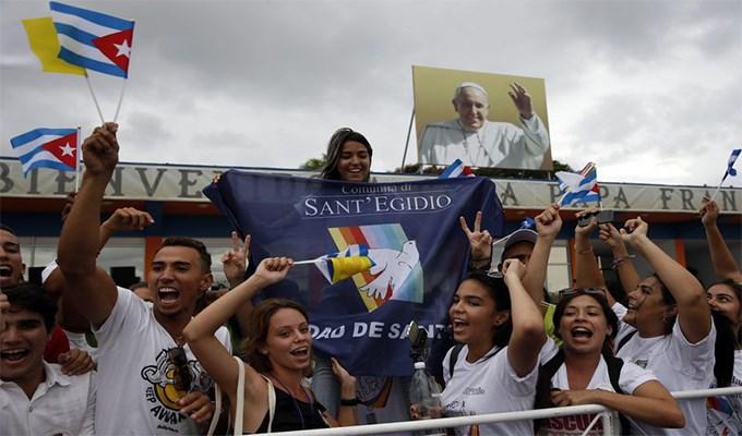 Cuba ân xá tù nhân vì Ðức Giáo Hoàng
