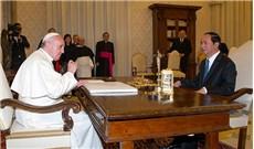 Chủ tịch Nước Trần Đại Quang hội kiến Đức Giáo Hoàng Phanxicô