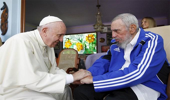 Fidel Castro và ba chuyến tông du của Giáo Hoàng