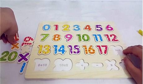 Dạy toán cho bé trước khi dạy chữ