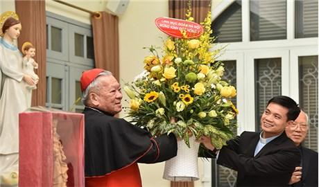 Đhy Phêrô Nguyễn Văn Nhơn mừng 25 Năm Giám Mục