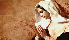 Đức Maria gương mẫu về đời sống gia đình