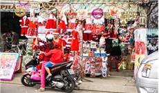 Sắc màu thị trường Noel 2016
