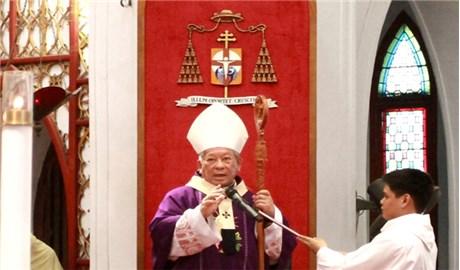 Đức Hồng y Phêrô Nguyễn Văn Nhơn tạ ơn 1 năm lãnh nhận tước vị Hồng y
