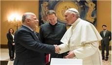 Đức Phanxicô tiếp Thủ tướng Iraq