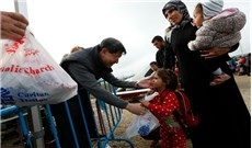 Caritas quốc tế gặp gỡ người tị nạn tại Liban