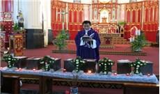 Thánh lễ an táng cho thai nhi tại nhà thờ Chánh tòa Hải Phòng