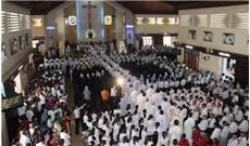 GP Phan Thiết: Thánh lễ Truyền Dầu tại nhà thờ Võ Đắt