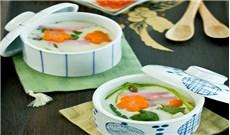 Điệu đàng trứng hấp kiểu Nhật (Chawanmushi)