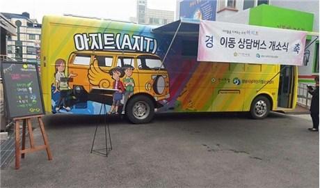 """""""Xe buýt Lòng Thương Xót"""" dành cho trẻ đường phố ở Hàn Quốc"""