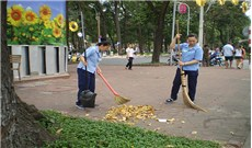 Công nhân vệ  sinh và  những tâm sự nghề