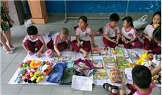 Ươm tinh thần trách nhiệm  cho trẻ từ hội chợ