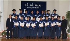 Trao bằng tốt nghiệp tại Học viện triết học Don Rua Đà Lạt