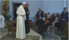 Đức Phanxicô thăm Villa Nazareth