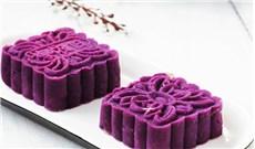 Bánh Trung thu khoai lang tím