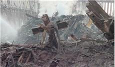 Cây Thánh giá và trang Kinh Thánh ở Ground Zero