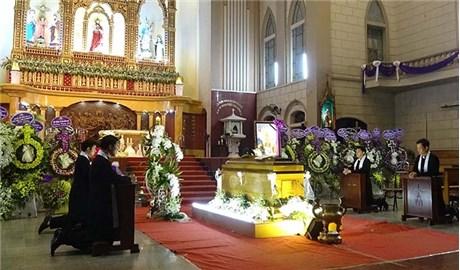Thánh lễ an táng Đức cha Phanxicô Xaviê Nguyễn Văn Sang