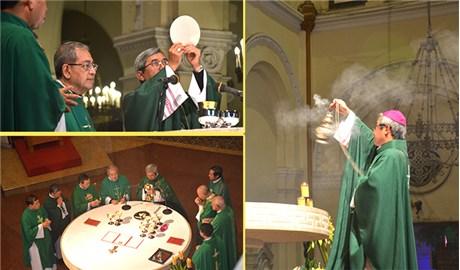 Đức cha Louis Nguyễn Anh Tuấn dâng thánh lễ tạ ơn
