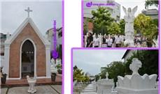 Nghĩa trang các Linh mục trước ngày Lễ Các Đẳng