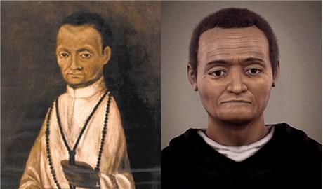 Tái dựng khuôn mặt thánh Martinô