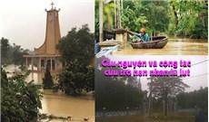 HĐGMVN KÊU GỌI  Cầu nguyện và cộng tác cứu trợ nạn nhân lũ lụt